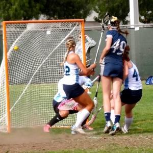 Key goal by Hannah Redwine!
