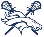 TH HORSE HEAD CROSSED STICKS LOGO